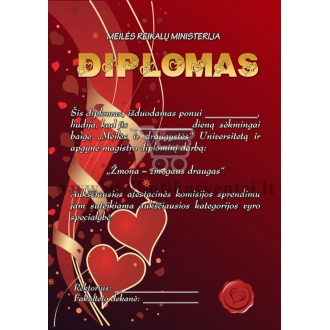 Jaunikio diplomas