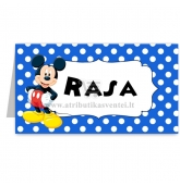 "Stalo kortelė ""Mickey Mouse"""