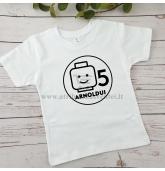 Gimtadienio marškinėliai vaikui - Lego