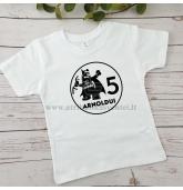 Gimtadienio marškinėliai vaikui - Lego Betmenas
