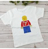Lego gimtadienio marškinėliai