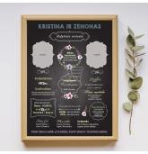 Vestuvių metinių dovana - Šeimos metraštis