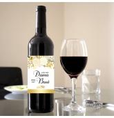 Etiketė vyno buteliui - Dama Bosė