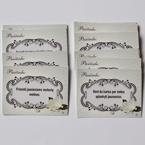 Vestuviu atributika pasizadejimu korteles